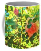 Sketchy Rose Coffee Mug