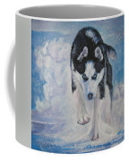 Siberian Husky Run Coffee Mug