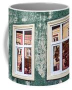 Sibiu Window Reflections - Romania Coffee Mug