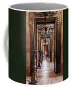 Side Aisle Of The Basilica Of The Mafra Coffee Mug