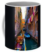 Side Canal  Venice Coffee Mug