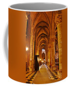 Side Hall Notre Dame Cathedral - Paris Coffee Mug