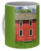 Side Of Barn And Windows At Old World Wisconsin Coffee Mug