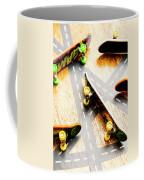 Side Streets Of Skate Coffee Mug
