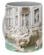 Side View Of The Trevi Fountain In Rome Coffee Mug