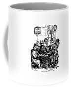 Sidewalk Cafe Grandville Transparent Background Coffee Mug