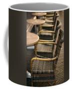 Sidewalk Cafe Texture Coffee Mug