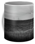 Sidney Lanier At Sunset In Black And White Coffee Mug