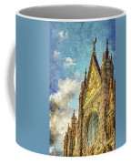 Siena Duomo Facade In The Sunset Coffee Mug