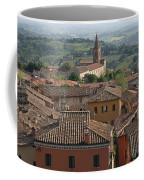 Sienna Rooftops Coffee Mug by Tom Reynen