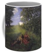 Siesta Coffee Mug by Hans Thoma