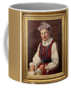 Sigfrid August Keinanen, Woman Standing. Coffee Mug