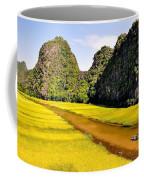 sighseeing on Ngo Dong river Coffee Mug