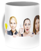Sign Of Business Innovation And Business Success Coffee Mug