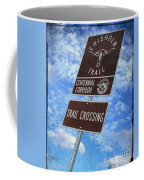 Sign On The Trail Coffee Mug