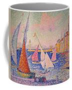 Signac: St. Tropez Harbor Coffee Mug by Granger