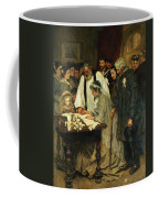 Signing The Marriage Register Coffee Mug