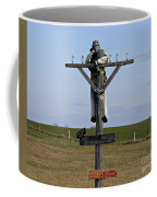 Signpost Up Ahead Coffee Mug
