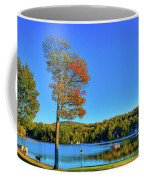Signs Of Autumn On Old Forge Pond Coffee Mug
