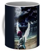 Silence Of An Angel Coffee Mug by Mo T