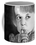Silence Please  Coffee Mug