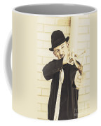 Silent Assassin With Target In Sight Coffee Mug