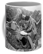 Silent Film Still: Picnic Coffee Mug