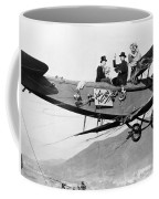 Silent Film Still: Stunts Coffee Mug