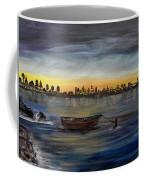 Silent Night At Sea Coffee Mug