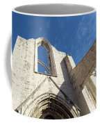 Silent Witness - Carmo Convent Roofless Ruin In Lisbon Portugal Coffee Mug