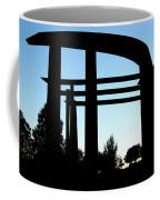 Silhouette At Sundown Coffee Mug