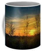 Silhouette By Sunset Coffee Mug