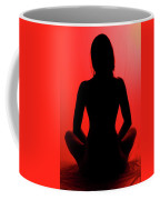 Silhouette In Red #1 Coffee Mug