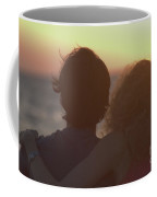Silhouette Of A Romantic Couple Coffee Mug