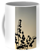 Silhouette Of Lilies Of The Valley 2 Coffee Mug