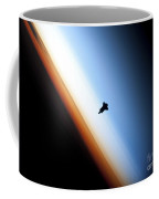 Silhouette Of Space Shuttle Endeavour Coffee Mug