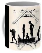 Silhouette Of The Book From The Village Of Memories 1882 5 Elizabeth Merkuryevna Boehm Endaurova Coffee Mug