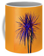 Silhouette On Orange Coffee Mug by Margaret Saheed