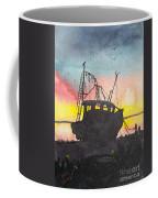 Grounded Shrimp Boat Coffee Mug