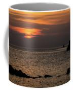 Silhouetted North Pier  Coffee Mug