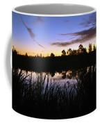 Silhouettes Of Sunrise Coffee Mug