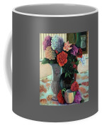 Silk Flowers Coffee Mug