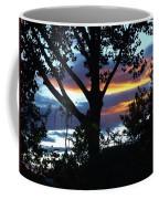 Silohuettes Of Trees Coffee Mug