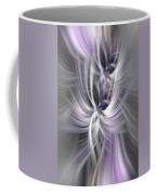 Silver Abstract Ascension. Mystery Of Colors Coffee Mug
