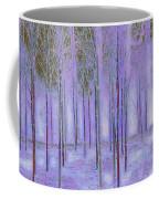 Silver Birch Magical Abstract  Coffee Mug