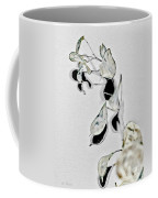 Silver Dollar Abstract Coffee Mug