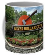 Silver Dollar City Sign Coffee Mug