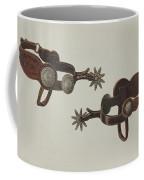 Silver Dollar Spurs Coffee Mug
