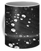Silver Drops Coffee Mug