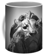 Silver Lion Coffee Mug